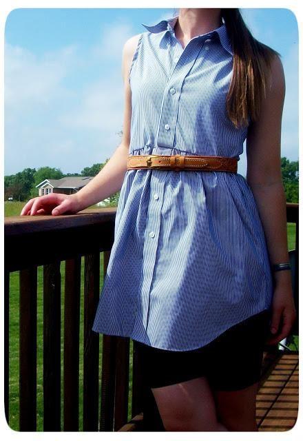 DIY Tutorial: DIY MEN SHIRT REFASHION / DIY Men's Shirt to Women's Blouse - Bead&Cord
