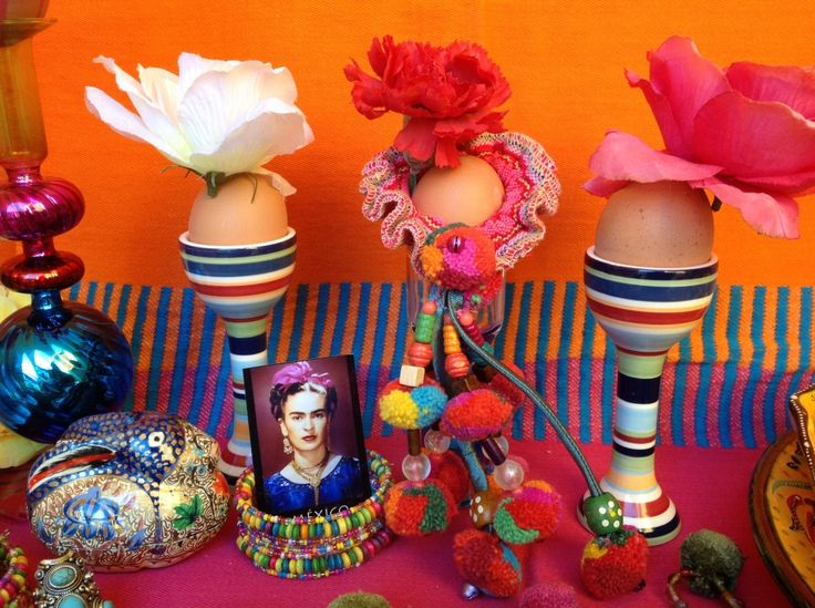 6 dekoracje wielkanocne pisanki swiateczny stol etno easter decorating easter eggs holiday table setting mexican easter ethnic boho folk styling
