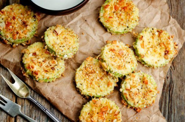 Vegetarisches essen zubereitung ideen lecker griechische zucchini backen nicht braten.jpg