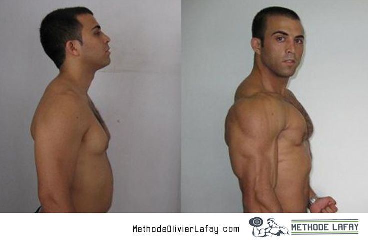 Avant après #methodelafay #musculation #motivation www.methodeolivierlafay.com