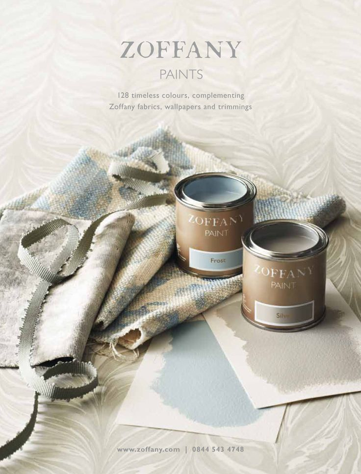 ZOFFANY PAINT AUTUMN 2012 The colours selected for this campaign work in perfect harmony with the Town & Country  collection launched at the same time.