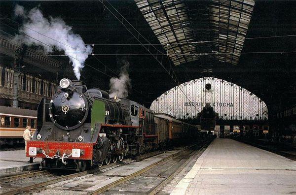 antigua  estación de Atocha