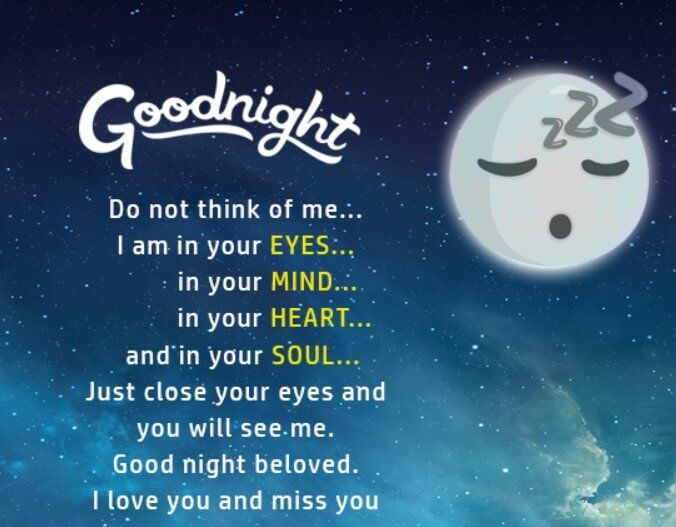 Romantic Good Night Messages For Your Girlfriend Good Night Quotes Goodnight Quotes Inspirational Romantic Good Night