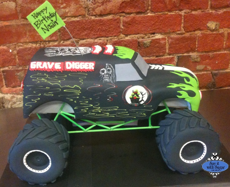 32 Best Images About Monster Truck Cakes On Pinterest