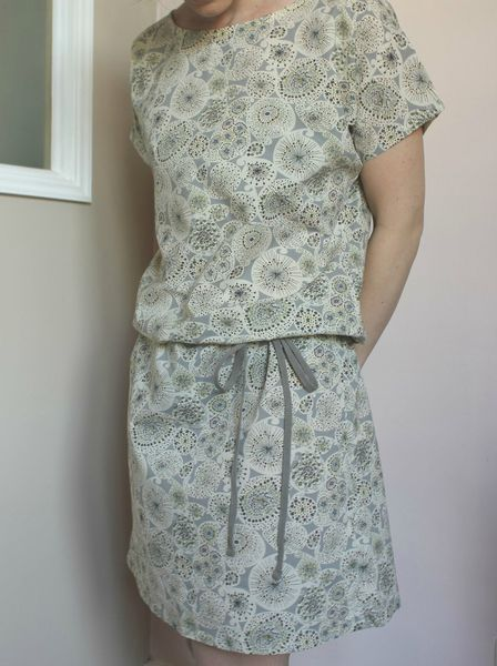 robe Minute de Marie Liberty Forty gris