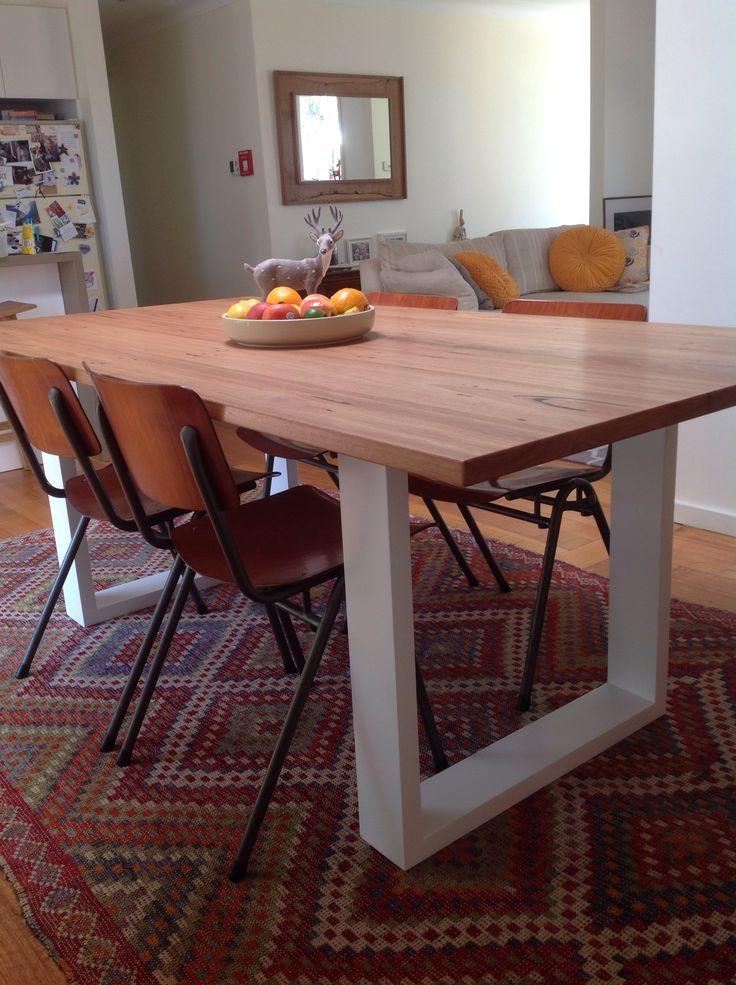 Our new kitchen table. Made by Kane, from Quality Hardwood Furniture Australia. Sooooooo nice!