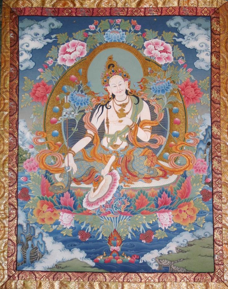 17 best padma yeshe images on pinterest buddha art buddhist art mandarava painted for jetsunma fandeluxe Images