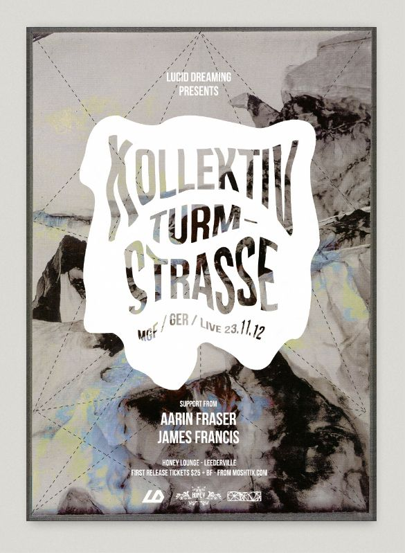 Posters Events by Studio Pyramid, via Behance