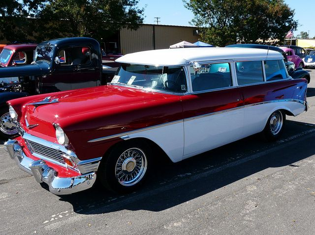 1956 Chevrolet Beauville Station Wagon Brought you by House of Insurance Car insurance at the right price in Eugene, Or.