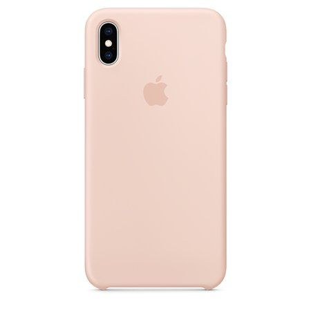superior quality fb008 b6ce2 Apple Silicone Case for iPhone XS Max - Pink Sand in 2019 | Products ...