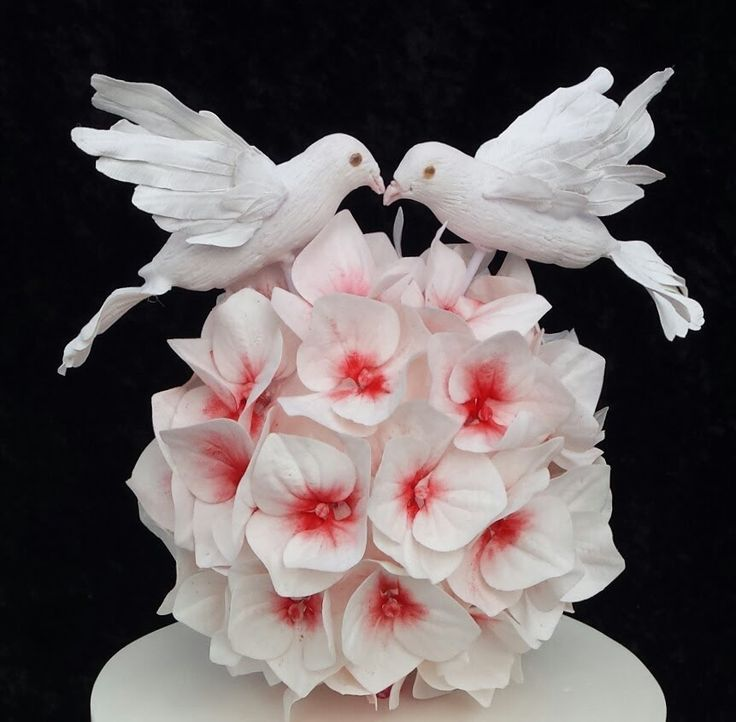 How to make a Gumpaste Dove Tutorial by Unusual Cakes For You