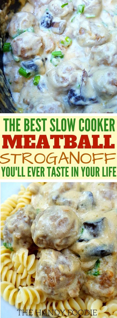 This slow cooker meatball stroganoff recipe is THE BEST! I'm so happy I found this on many of my well-kept chicken crock pot recipes. Now I have this easy, easy meatball crockpot recipes for any days. I will include this in my list of best crock pot recipes and southern comfort food recipes. Truly, this is one the easy Italian meatballs recipes. Definitely pinning!