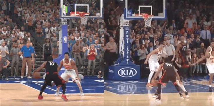 NBA 2K16 vs Real Basketball