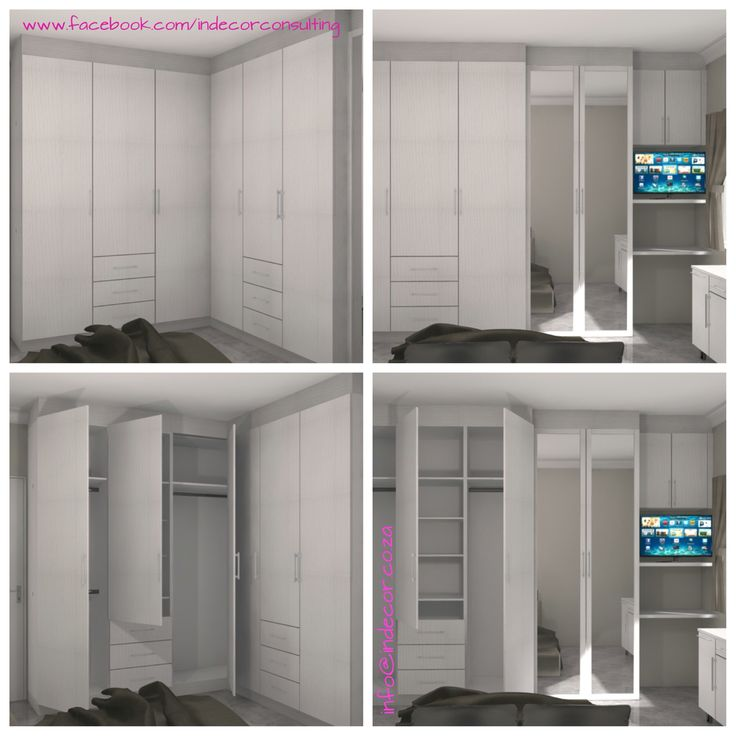3D images for bedroom cupboards
