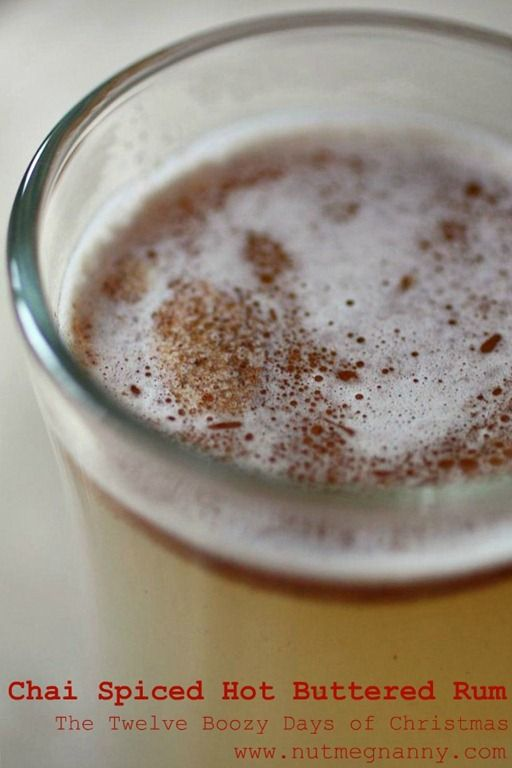 Chai Spiced Hot Buttered Rum