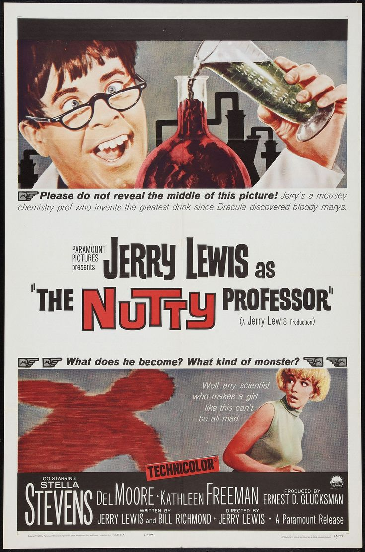 nutty professor movie poster | Nutty2500