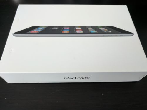 Apple iPad mini 1st Generation 16GB Wi-Fi 7.9in Space Gray IN BOX Model A1432