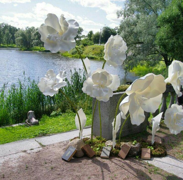 Paper flowers wmedding