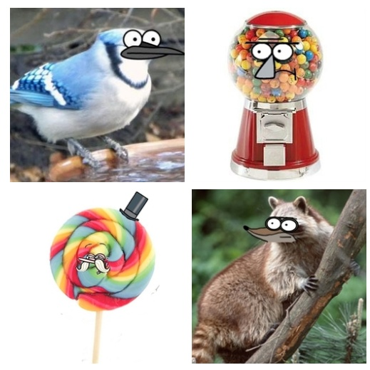 if The Regular Show characters became real