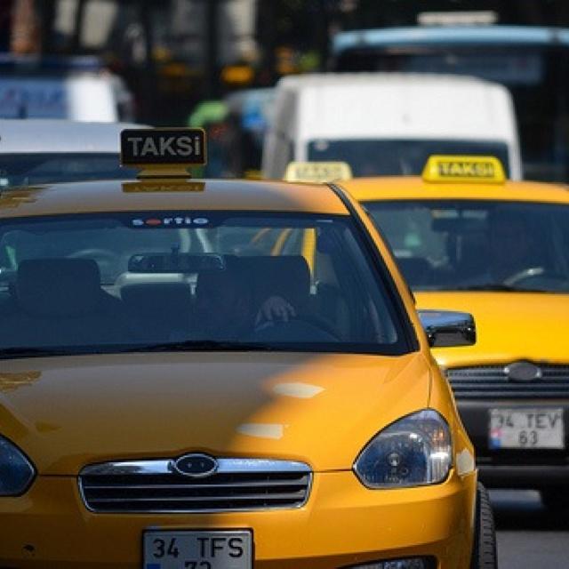 Taksi in Istanbul
