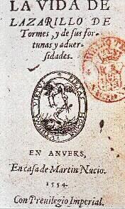 La vida de Lazarillo de Tormes y de sus fortunas y adversidades-- ya se puede ver del título que es una obra del género literario ¨la novela picaresca¨ que suele incluir representaciones de los pobres. El hidalgo ocultaba su pobreza bajo su título de importancia.