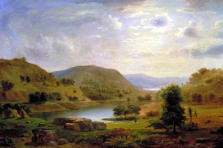 Antebellum Paintings | Currently at the Wallach Gallery are paintings by Robert S. Duncanson ...