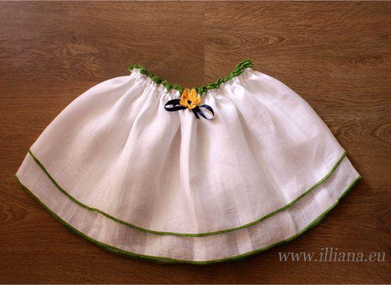 Ruffle Layered Girl Skirt. Back to School