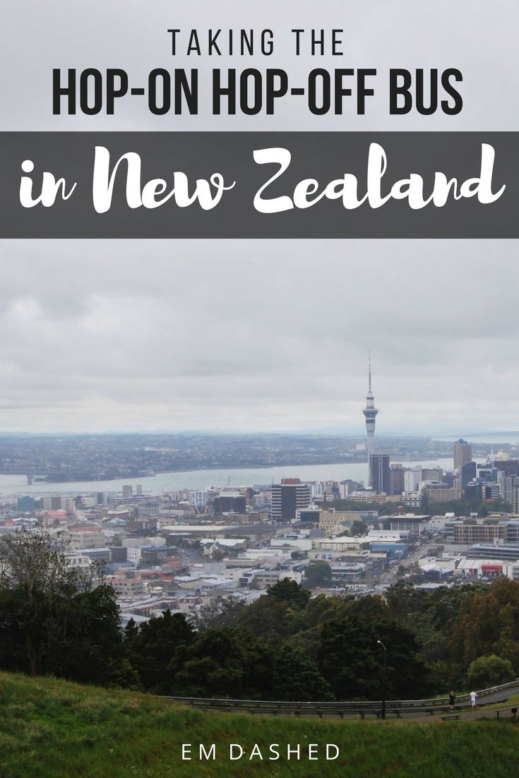 Despite all the stereotypes, hop-on hop-off buses can be a great way to travel in New Zealand. Click through to find out why I chose the bus -- and whether it's the right choice for you, too. | #NewZealand