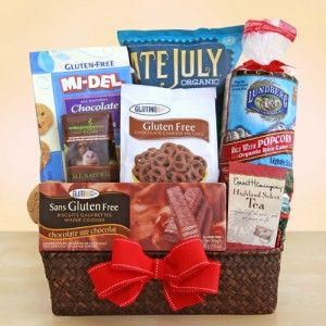 The 25 best gluten free gift baskets ideas on pinterest gluten gluten free gift basket california delicious negle Images