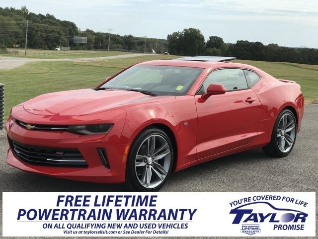 2018 Chevrolet Camaro 1lt Coupe Rwd 28 385 Sports Cars Nissan Gt R Chrysler Jeep
