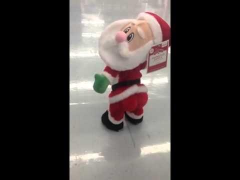 Santa Toy Twerking, OMG...can't stop laughing - YouTube