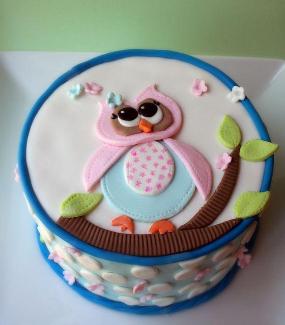 Owl Birthday Cake Instructions Image Inspiration of Cake and
