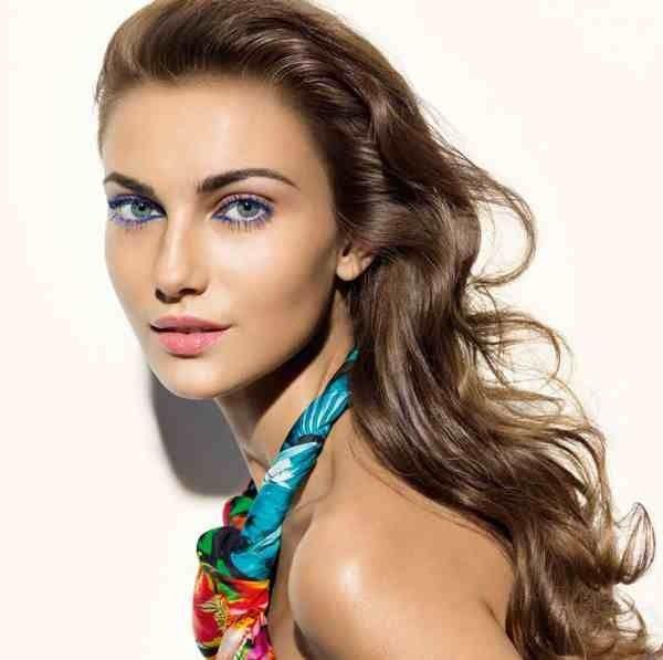Soft elegant carnival makeup