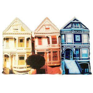 Patrick Chirico, BuildYourBlock  San Francisco Pillow Set Of Two