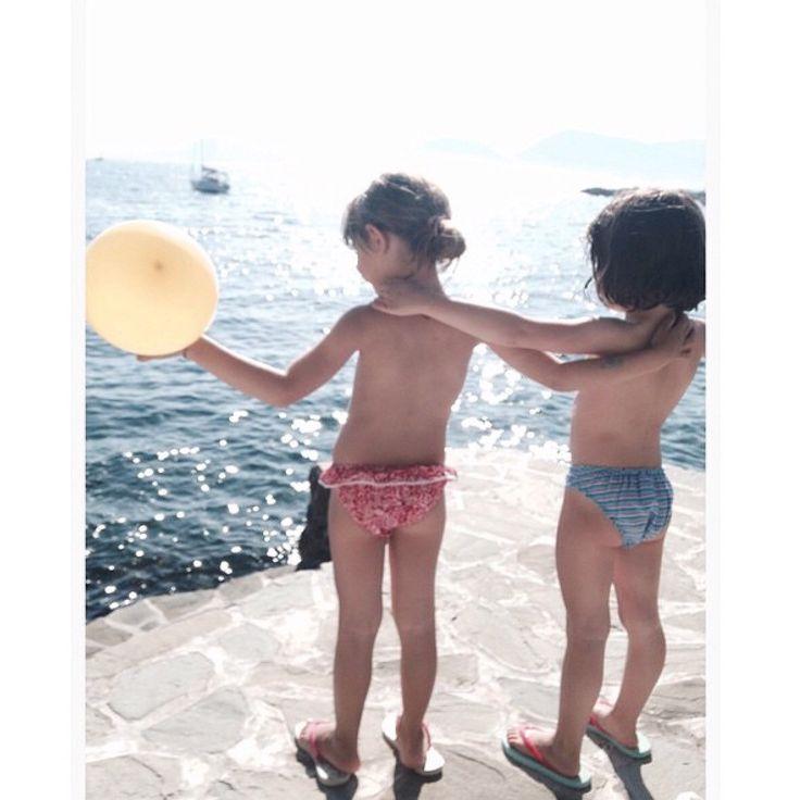 #lostrapitosalsol #beachwear #kidswear #ss15