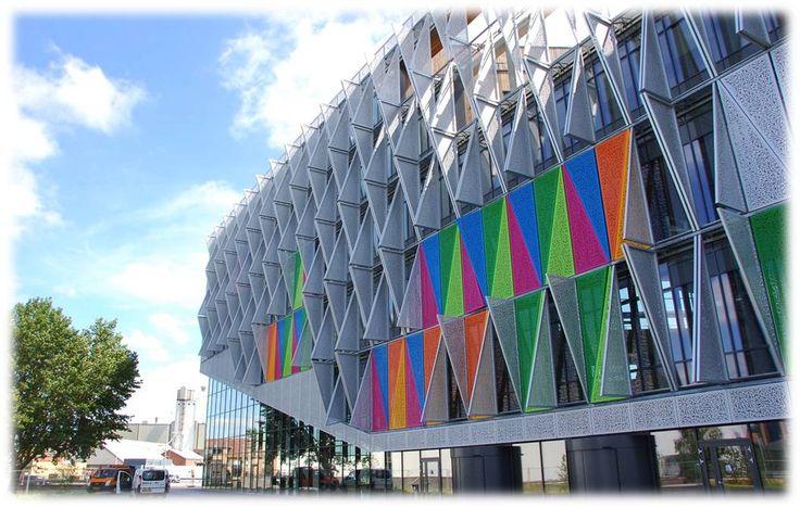 SDU Campus Kolding, Henning Larsen Architects Aluminium Danmark -