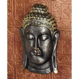 """Sukhothai and Bodh Gaya Buddhas"" Asian Wall Sculptures: Bodh Gaya"