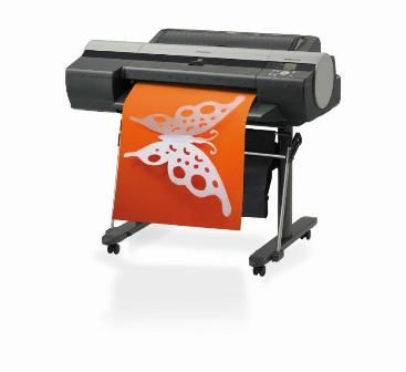 "Canon image PROGRAF iPF6000s   Designed for the poster and sign making market, the Canon image PROGRAF iPF6000s delivers exceptional quality A1 (24"") prints at blistering speeds."