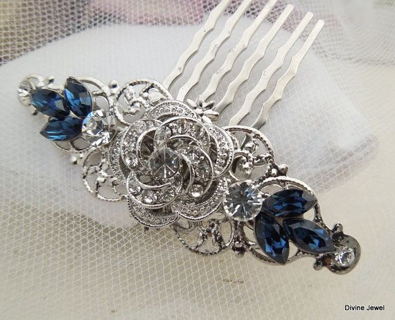 Wedding Rhinestone Hair Comb Bridal Rhinestone Hair by DivineJewel, $35.00. This is the ONE!!!
