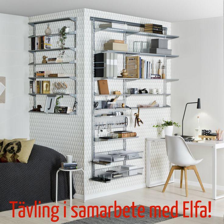 Om du behöver hjälp med organiseringen så kan du vinna ett hembesök av Förvaringsdrottningen och produkter från Elfe? Gå in på bloggen och läs mer!