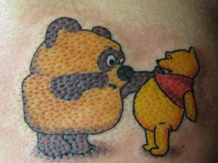 Суровые русские татуировки - для славянской души!