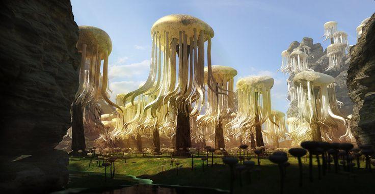 Alien Forest    or    What I found in the Pantry by jeremyschwer.deviantart.com on @DeviantArt