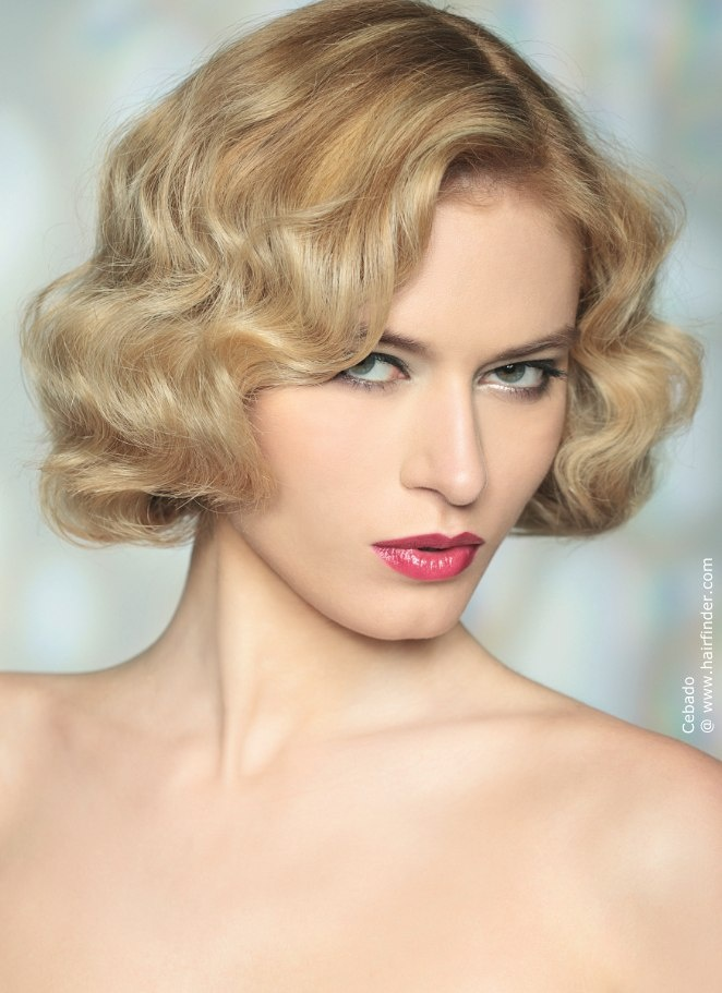 layered medium hair styles vintage curly bob www pixshark images galleries 1041