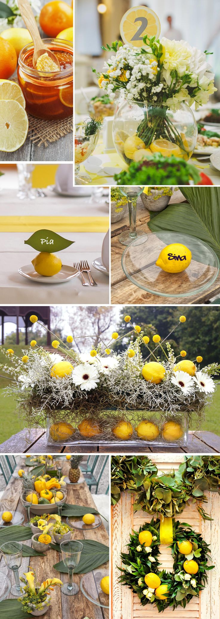 10 images about tischdeko on pinterest simple craft ideas centerpieces and chen - Sommer tischdeko ...