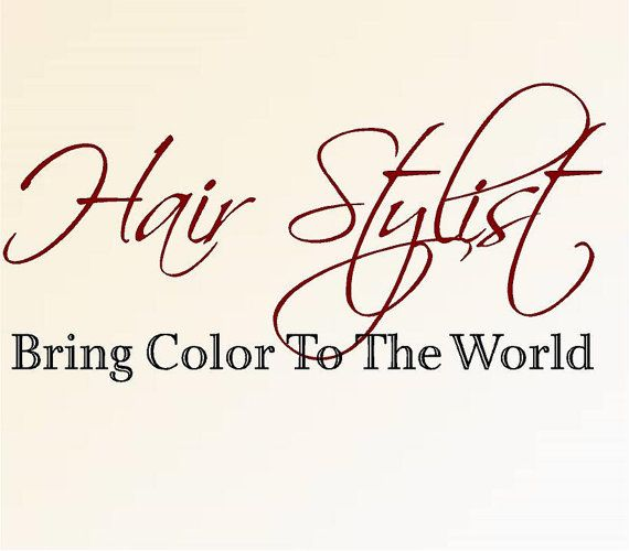 Hair Stylist Bring Color To The World Medium 16 H X 32 W