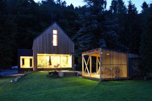 Stribrna Skalice Weekend House / H Blog - House: Prodesi, Idea, Skalice House, Lina Németh, Stribrna Skalice, Architecture, Wood Houses, Design