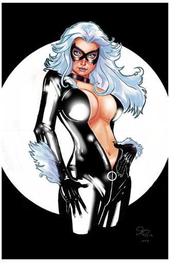 Черная кошка фелиция костюм