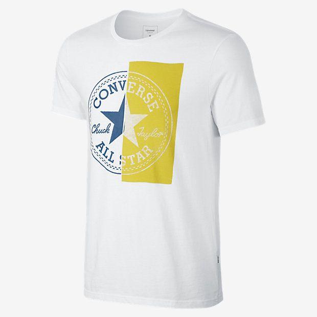 Converse High Def Spliced Chuck Taylor Patch Men's T-Shirt