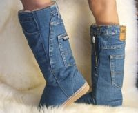 Ugglies - Lambskin Low Ugg Boots! Click to view  detail.