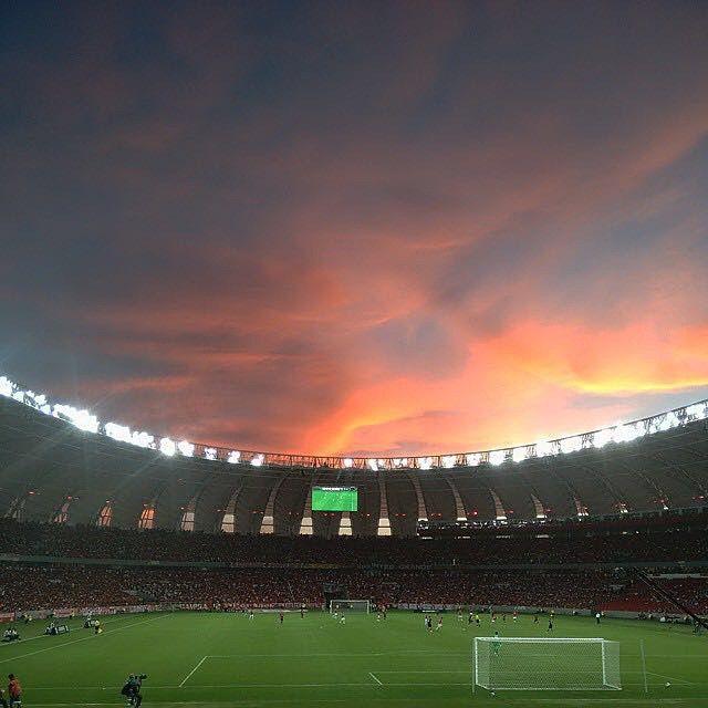 Em casa. At home. Taken by @pablitoast inside the home of Internacional, in Porto Alegre. #whereisfootball